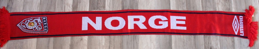 Szalik Umbro Norge Norwegia