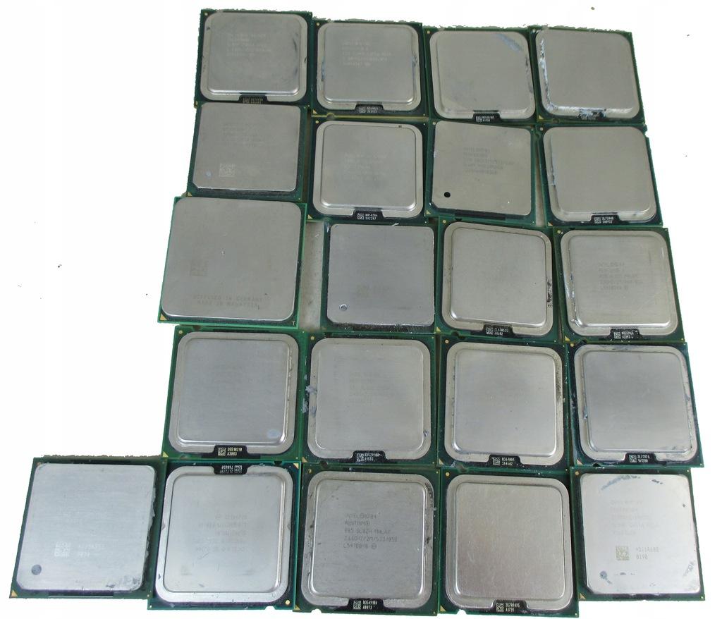 PROCESORY 21SZT ODZYSK ZŁOTA ELEKTRO INTEL AMD