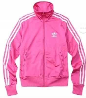 Rozowa Bluza Adidas Rozpinana Zamek 36 S 7448219217 Oficjalne Archiwum Allegro