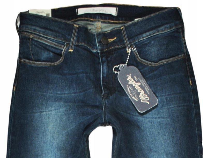 WRANGLER spodnie regular bootcut SYLVIE W26 L32