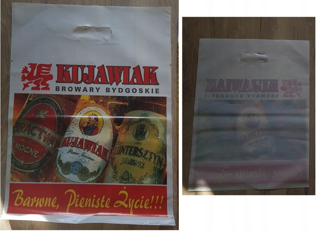 NOWA Reklamówka - Kujawiak Browar Bydgoszcz