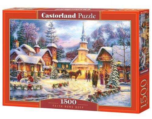 Puzzle 1500 Faith Runs Deep - Castorland