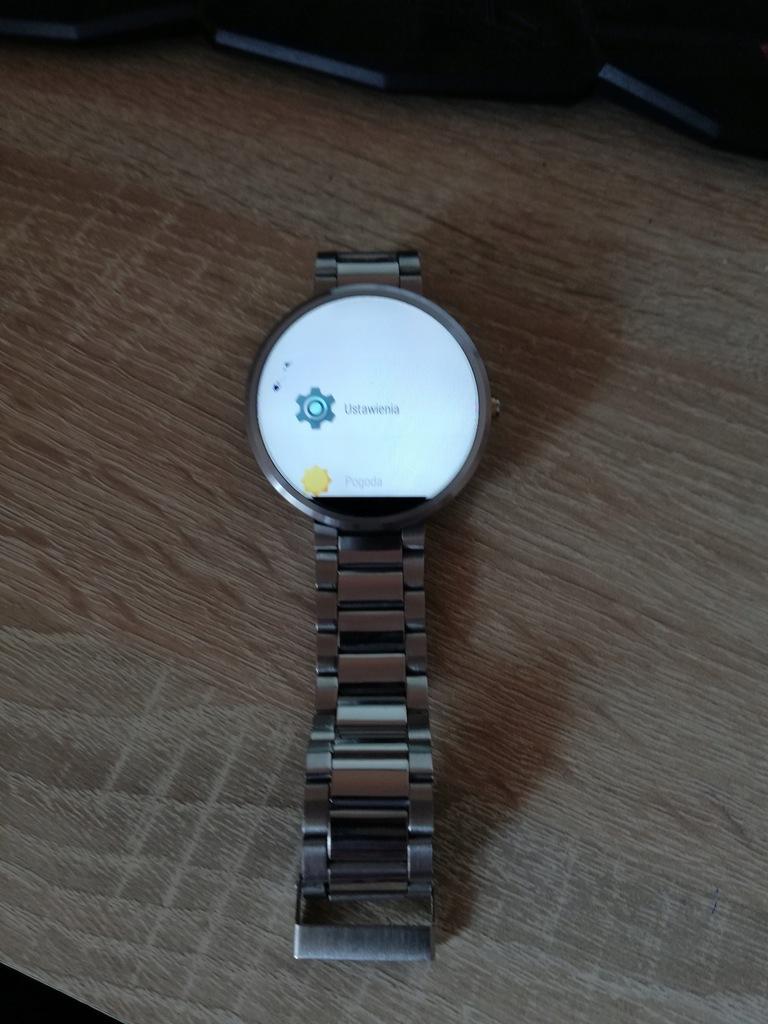 Smartwatch motorola wifi android wear pulsometr