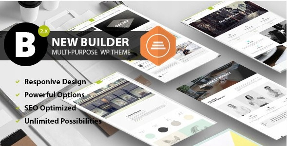 Szablon Themeforest BUILDER Responsive Theme