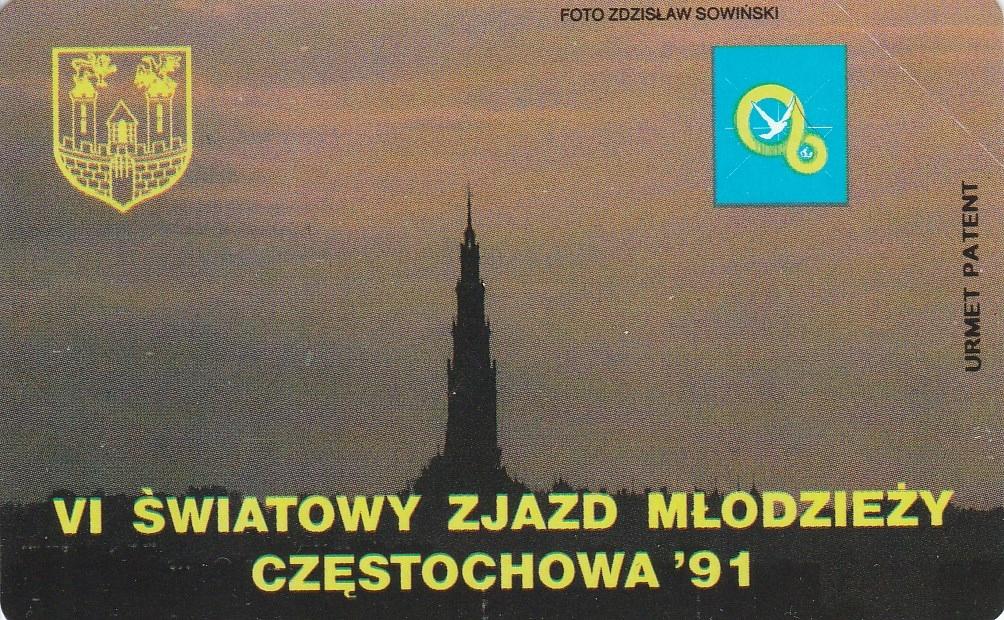 Światowy Zjazd Młodzierzy Częstochowa '91 - nr 6
