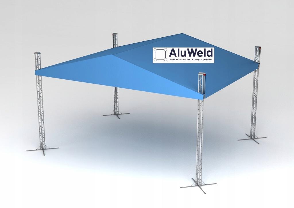 Zadaszenie Estradowe, Scena Aluweld 8m x 6m