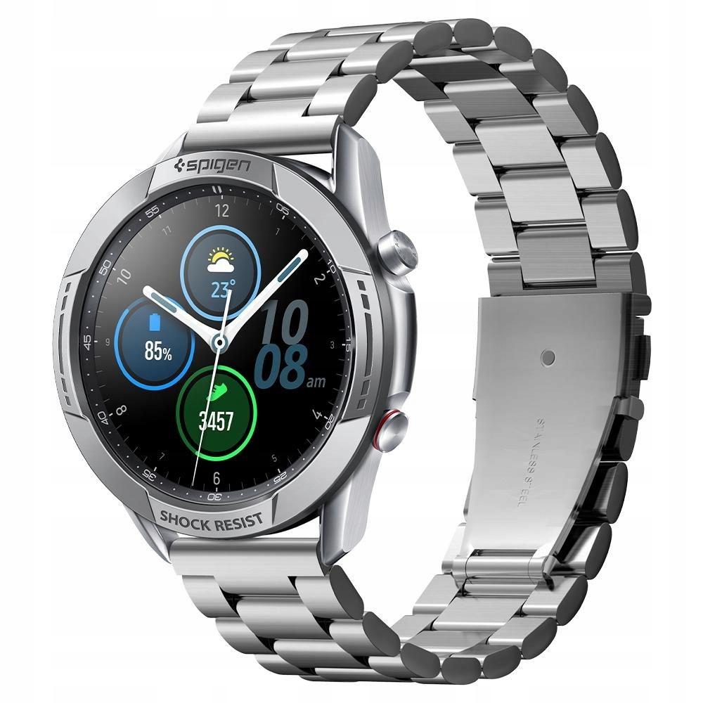 Nakładka Spigen do Galaxy Watch 3 45mm Silver