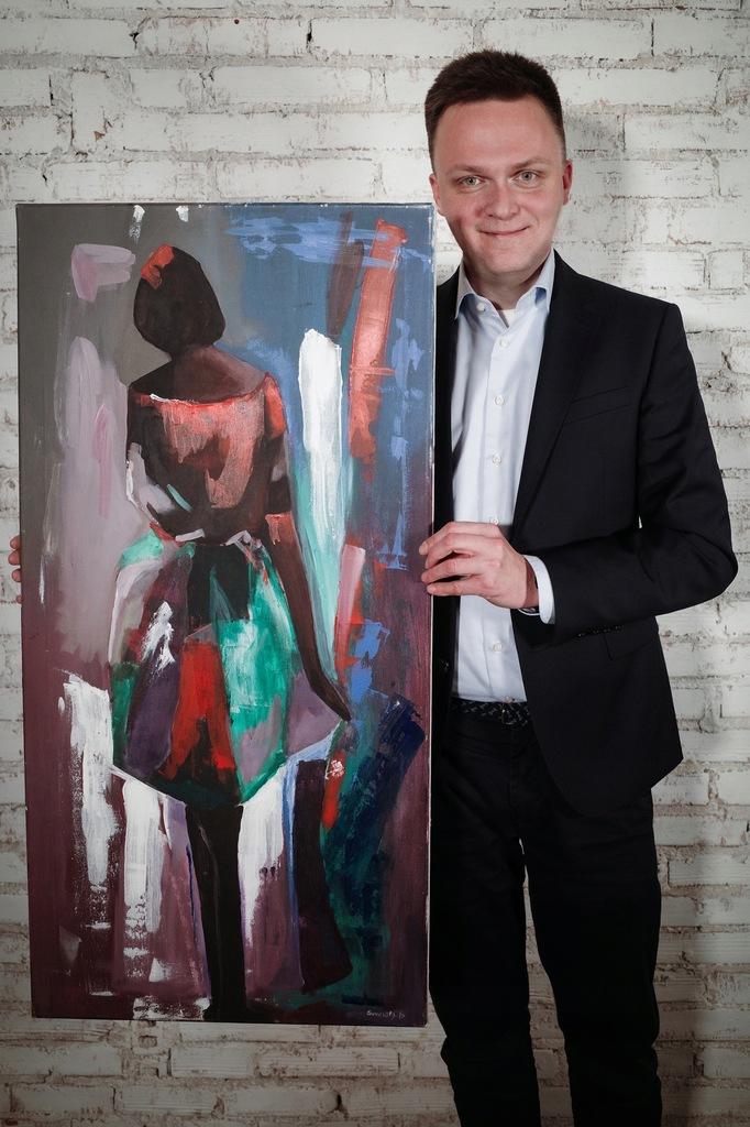 Obraz od Szymona Hołowni