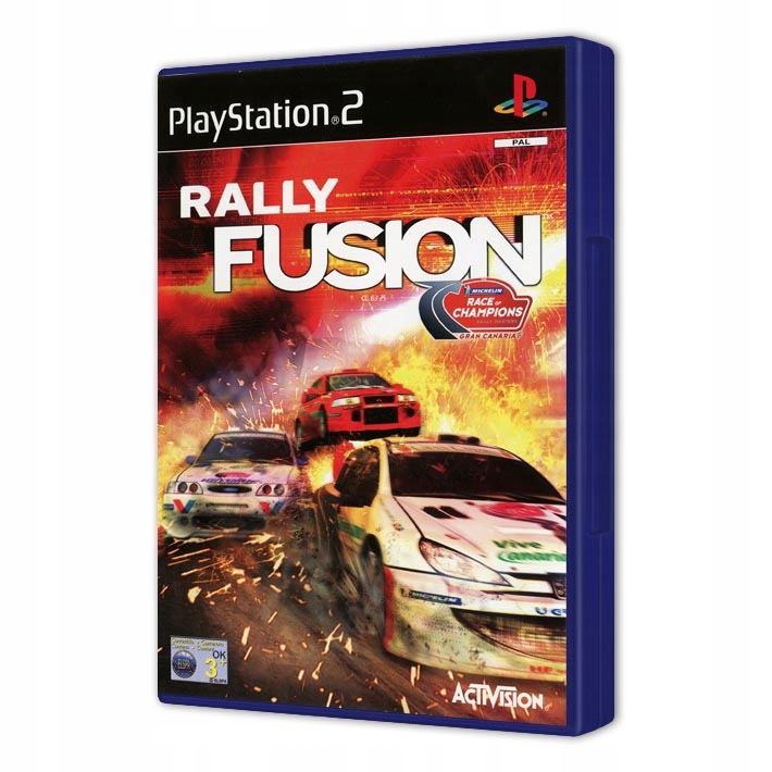 RALLY FUSION RACE OF CHAMPIONS PS2