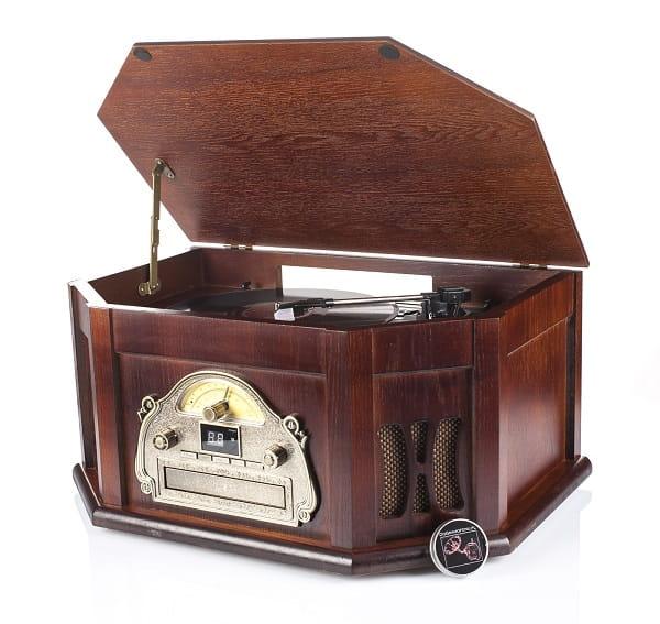 RETRO gramofon CD radio GRATIS płyty do wyboru!