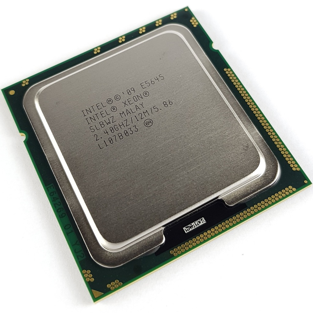 Intel Xeon E5645 2,40-2,67GHz 12MB LGA1366 + pasta