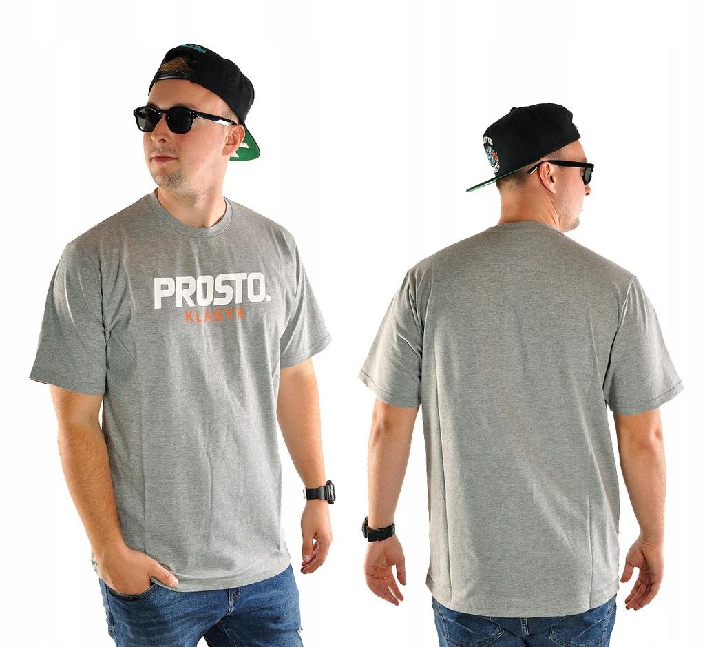 Koszulka XL PROSTO KLASYK STANDARD TS szara