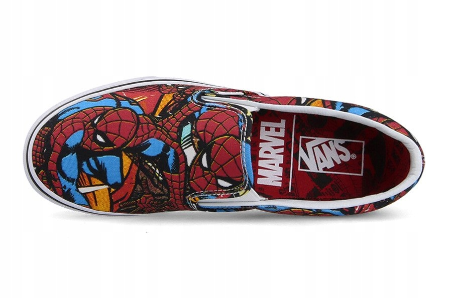 Vans Classic Slip On x MarvelSpiderman R.36,5#23cm