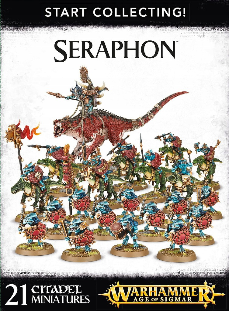 Start Collecting! Seraphon zestaw startowy STREFA