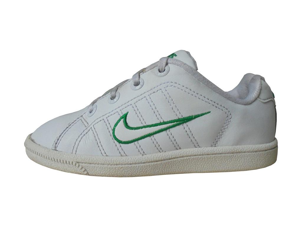 Skórzane buciki Nike Court Tradition 2. Rozmiar 30