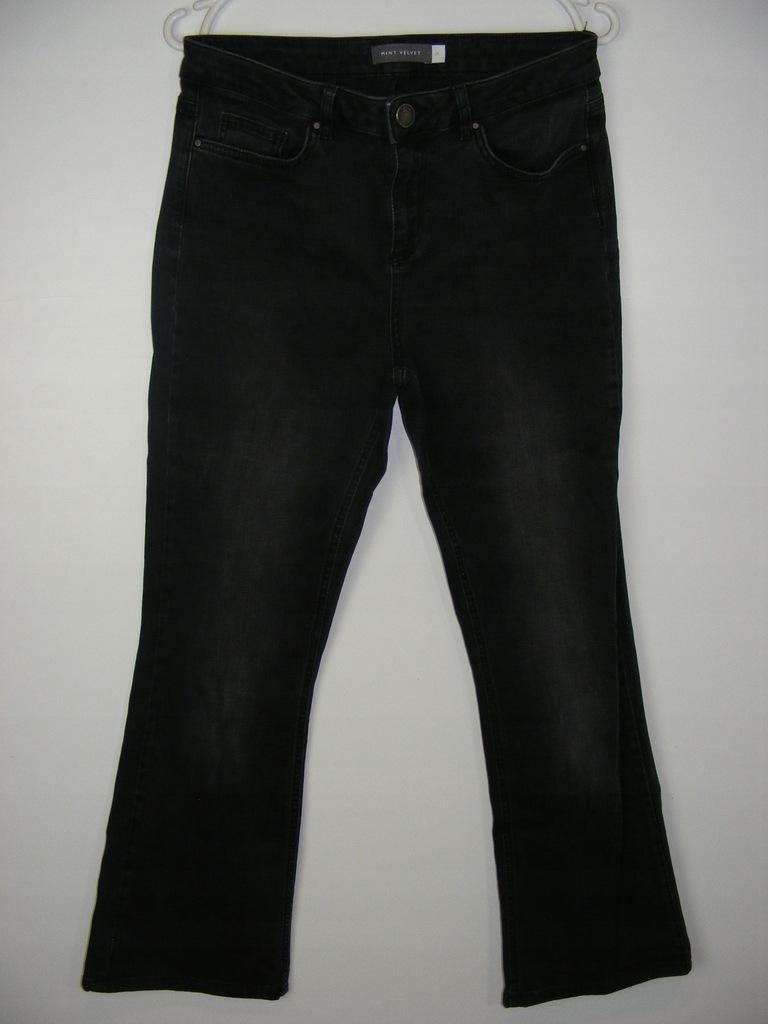 MINT VELVET elastyczne jeansy bootcut R 12S 38