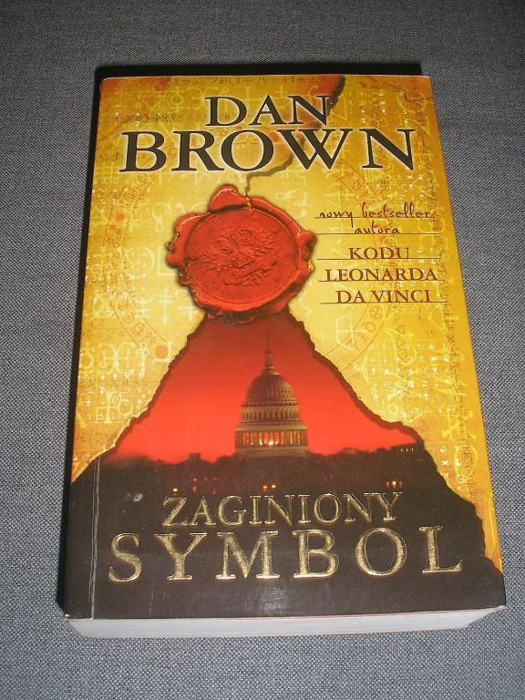 Dan Brown Zaginiony symbol