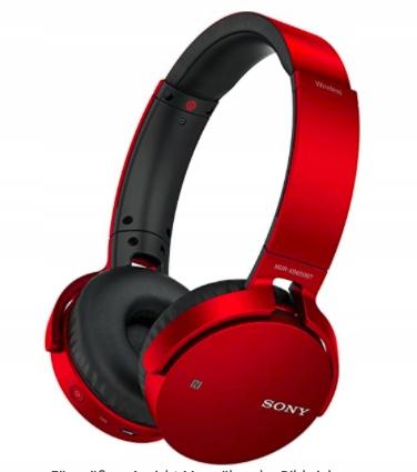 Bezprzewodowe słuchawki Sony MDR-XB650BT