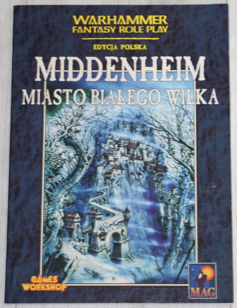 Middenheim Miasto Białego Wilka Warhammer