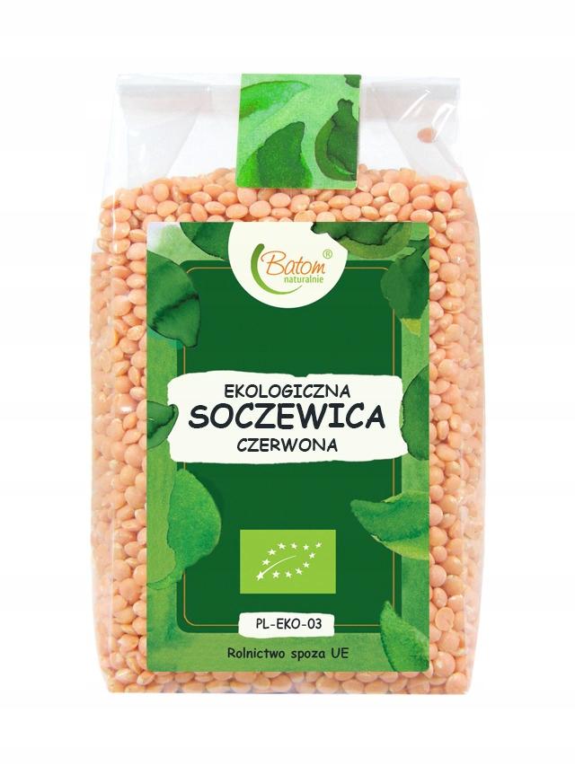 Białko z SOCZEWICA CZERWONA 250g BIO BATOM