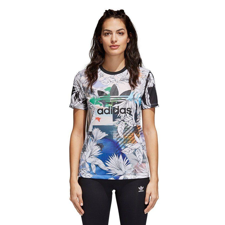 Koszulka Damska adidas Treofil bawełna XS 34