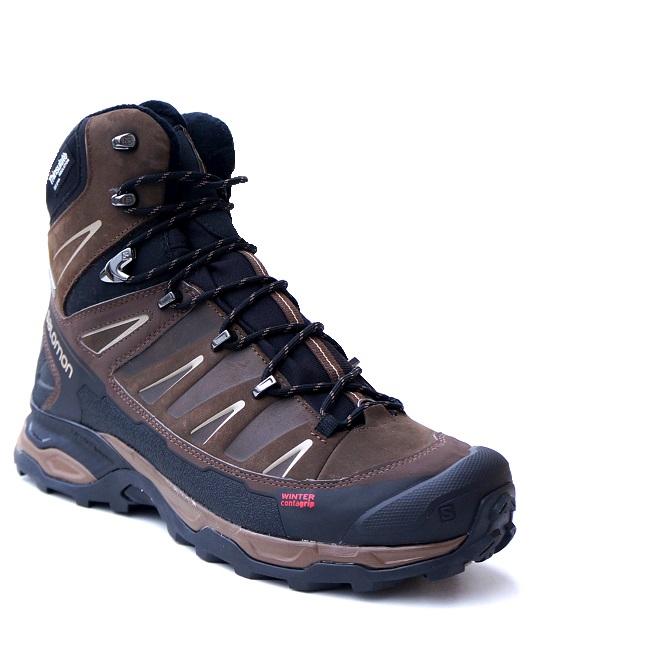 Salomon X Ultra Winter CS WP Absolute Brown Boots