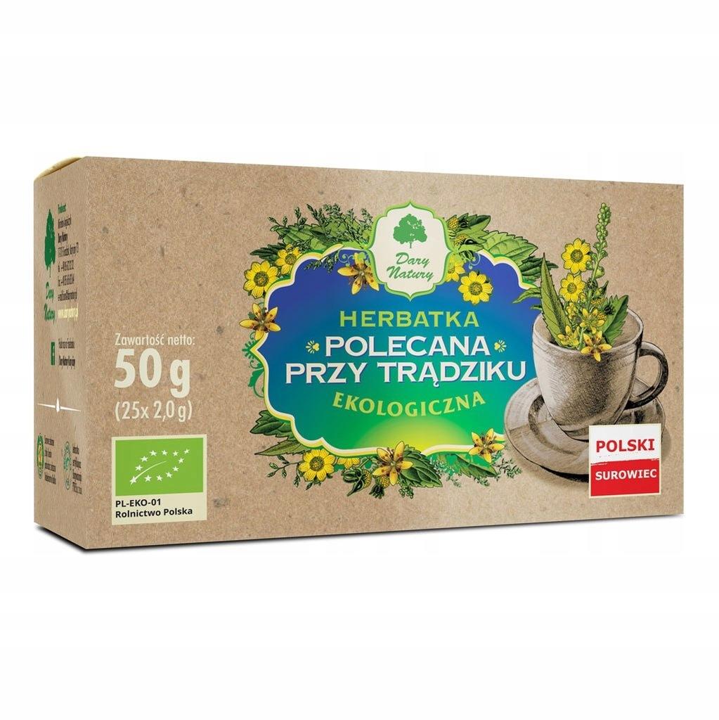 Herbata Polecana przy trądziku fix BIO 25*2g DARY