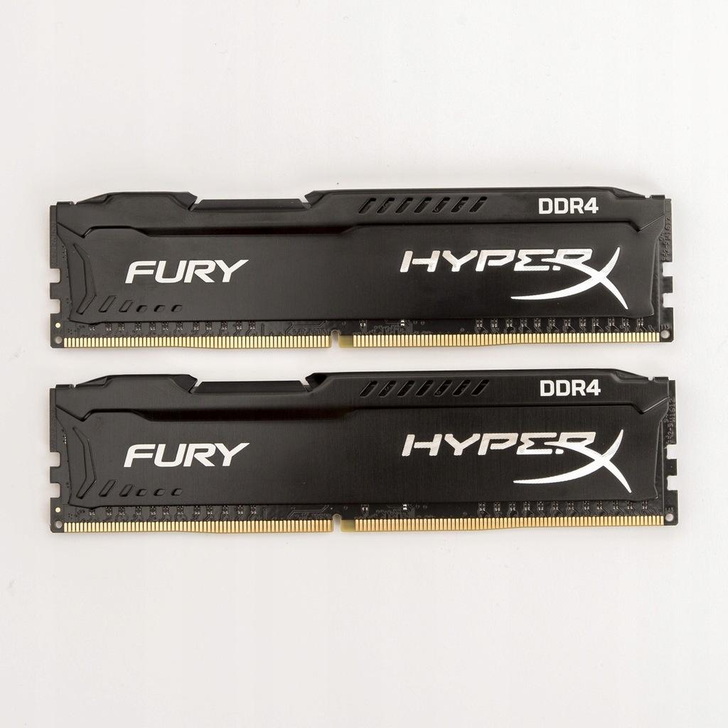 Pamięć RAM HyperX 16 GB DDR4 Fury 14 CL + GRATISY