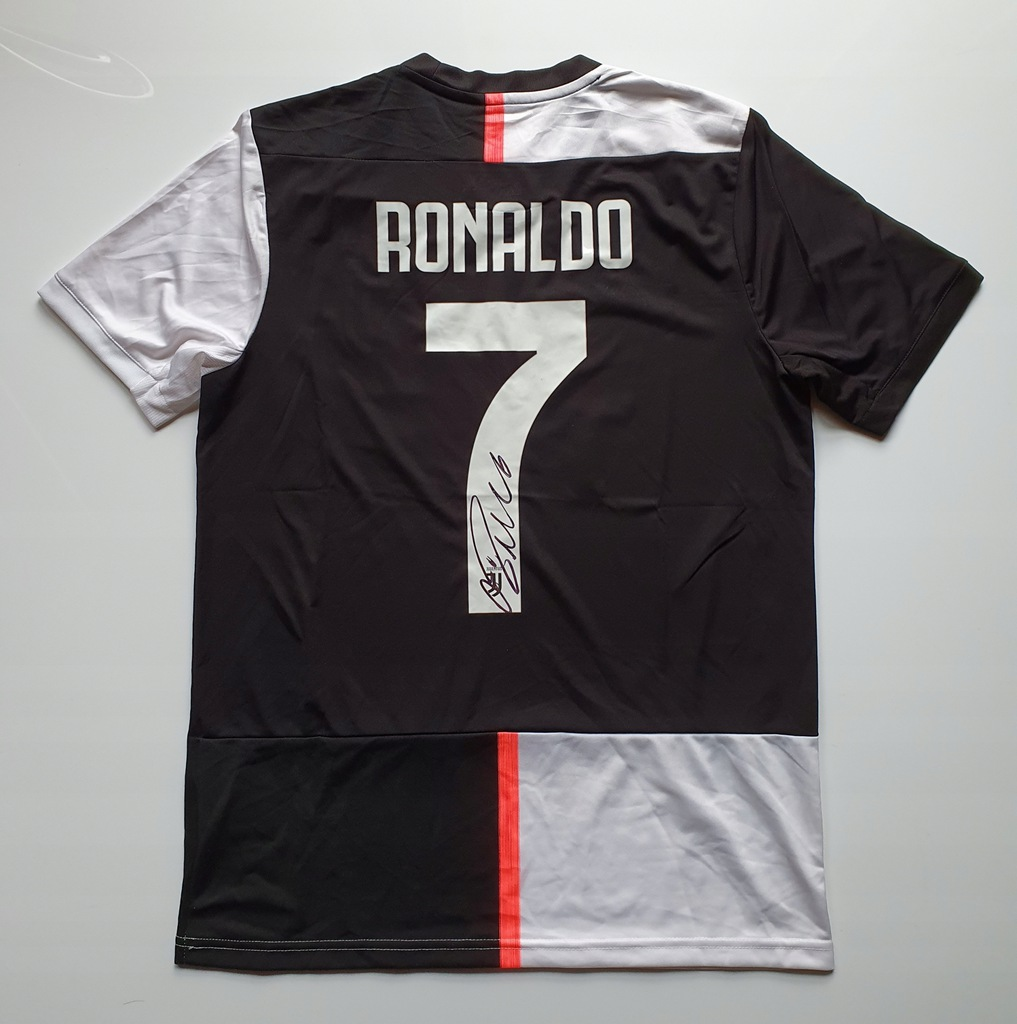 Ronaldo, Juventus FC - koszulka z autografem (zag)