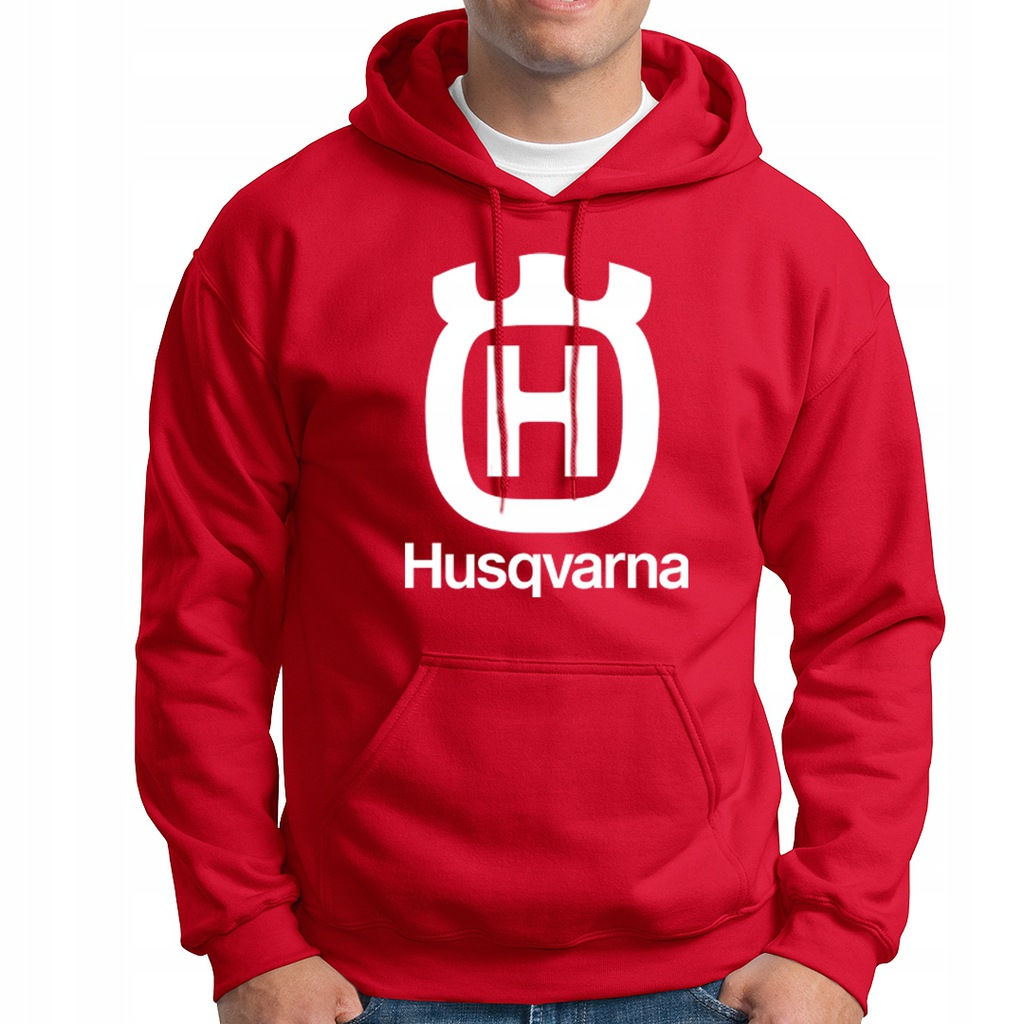 bluza HUSQVARNA gruba hoodie kaptur S-XXL xxl