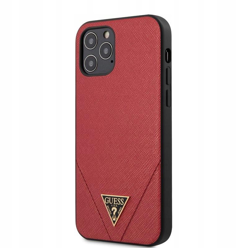 Guess Saffiano V - Etui iPhone 12 / iPhone 12 Pro