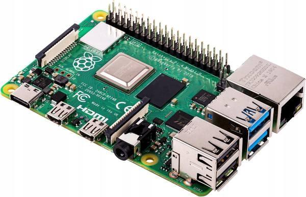 Komputer jednopłytkowy Raspberry Pi 4 B 4GB 1.5GHz