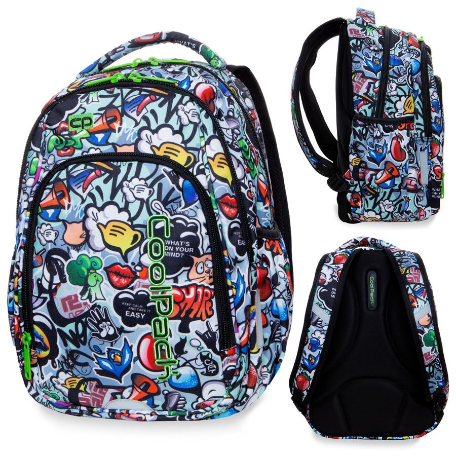 Plecak Do Szkoly Pierwszej Klasy Coolpak Graffiti 8427827484 Oficjalne Archiwum Allegro