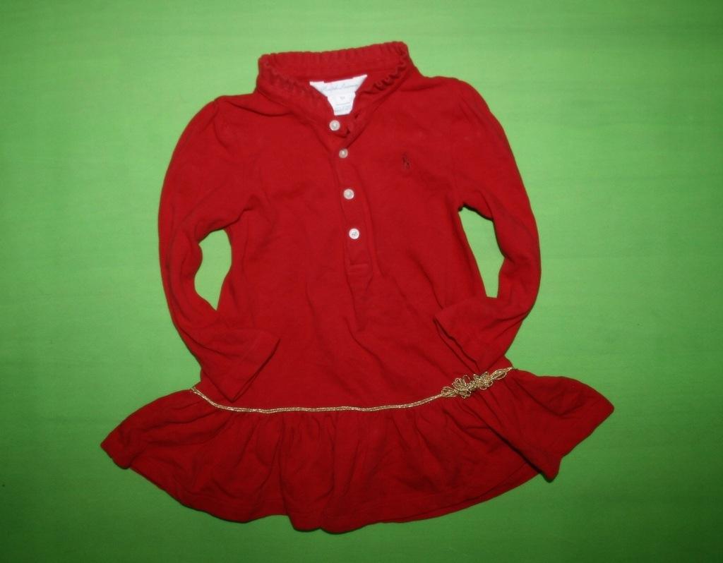 Ralph Lauren markowa sukienka 86 LOGO