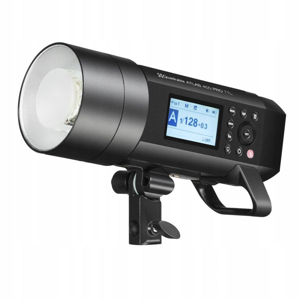Quadralite Atlas 400 Pro TTL lampa studyjna