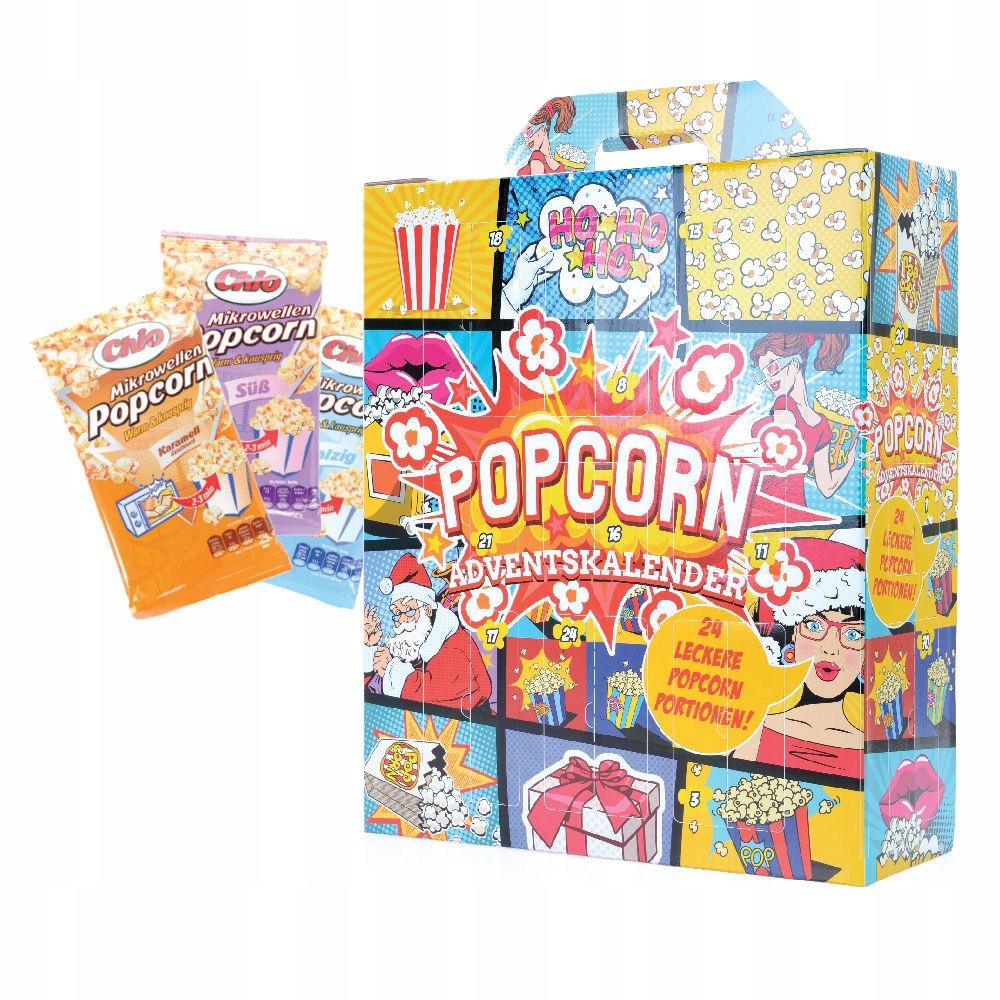 Popcorn Kalendarz Adwentowy na Wieczory Święta