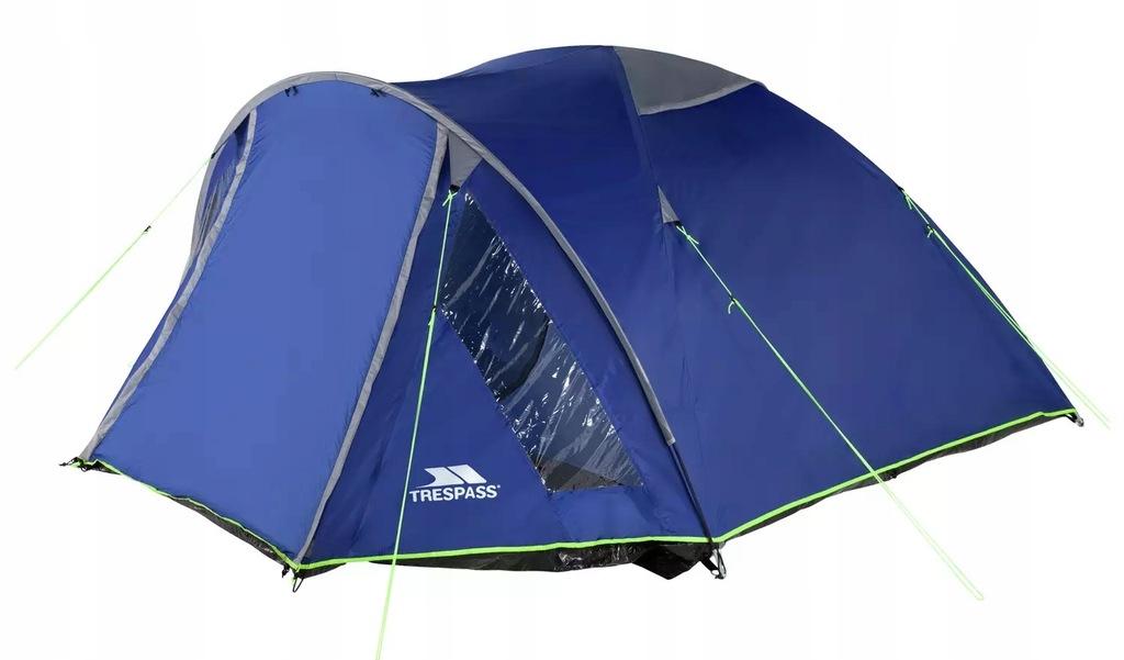 Namiot kempingowy Trespass 4 Man 1 Room Dome K717