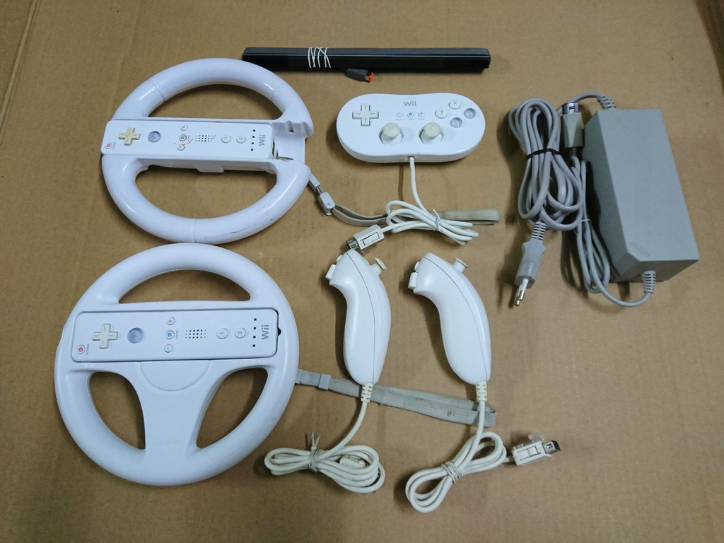 Nintendo Wii zestaw akcesoriów