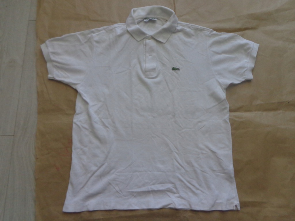 LACOSTE CHEMISE POLO OLDSCHOOL STYLE MEDIUM-LARGE