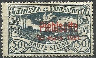 1921 PLEBISCYTY - GÓRNY ŚLĄSK Fi 36*