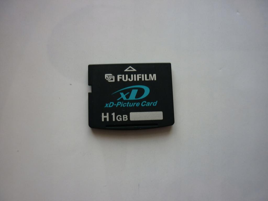 Karta pamięci XD Fujifilm H 1 GB najszybsza