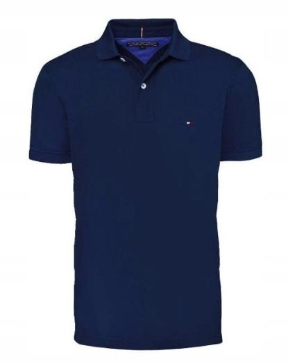 Koszulka Polo Tommy Hilfiger Granat Rozmiar XXL