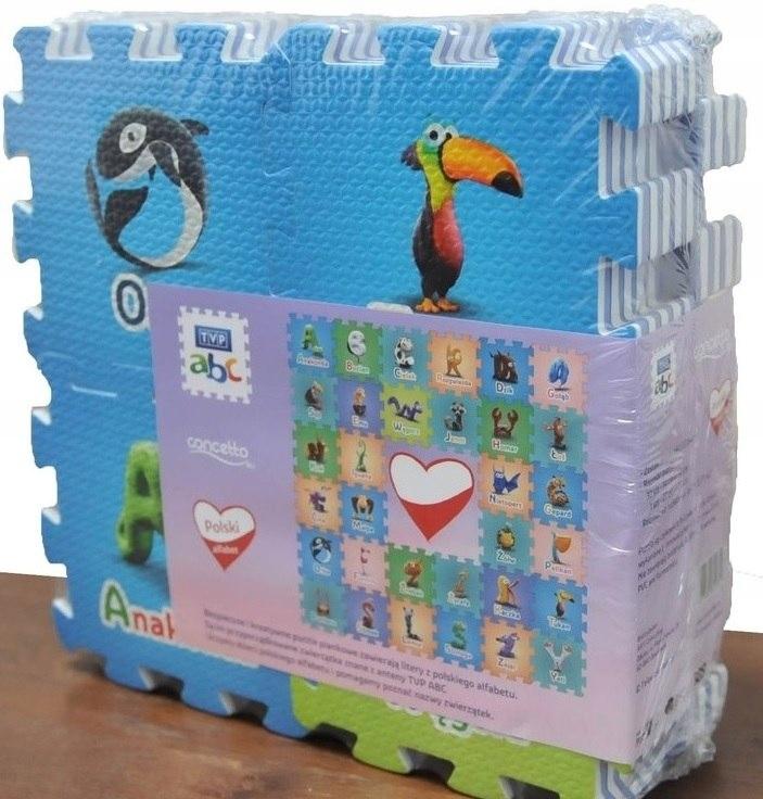 Concetto puzzle piankowe TVP ABC MINI 33 elementy