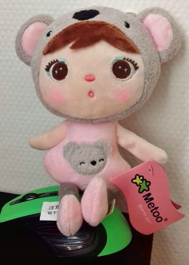 Mała lalka metoo me too panda brelok mała