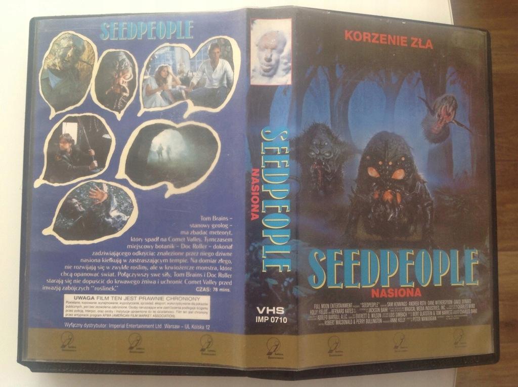 Seedpeople/VHS/Lektor/Imperial Unikat ! ! !