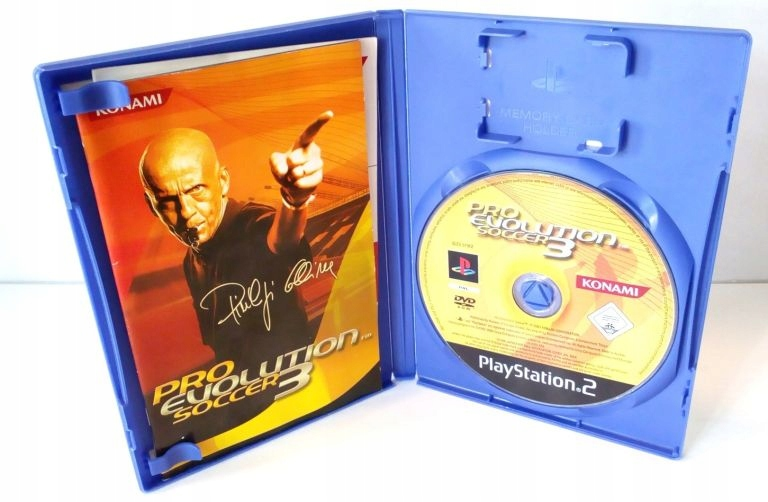 GRA NA PS2 PRO EVOLUTION SOCCER 3