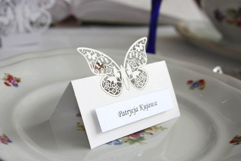 Winietki motylki - zestaw 50szt