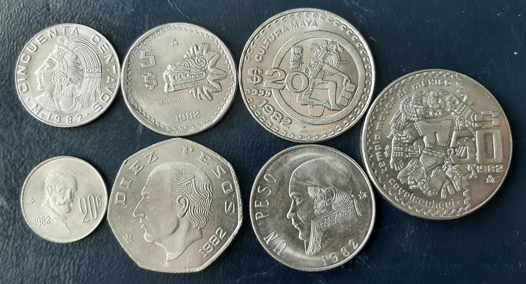 MEKSYK zestaw 7 monet