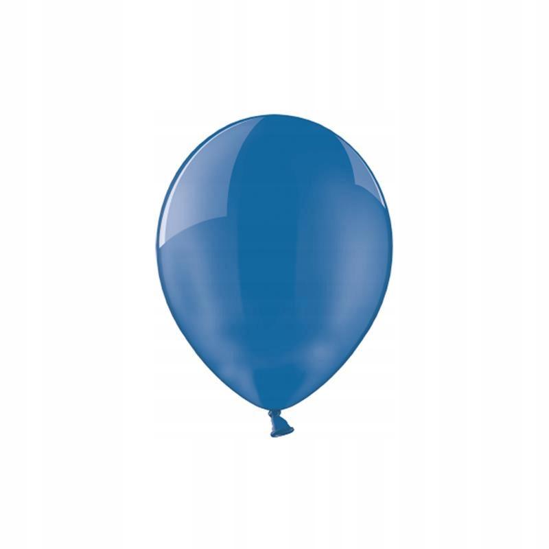 Balony 14'', Crystal Blue 100 szt.