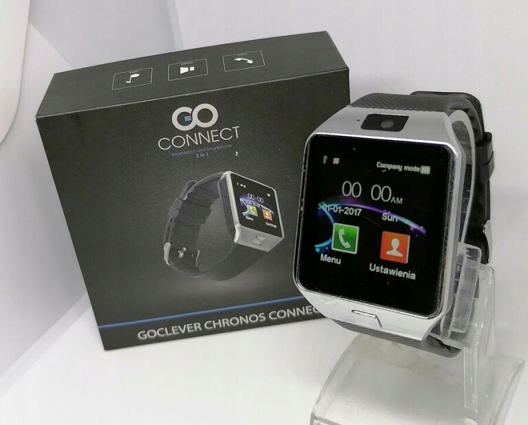 SMARTWATCH GOCLEVER CHRONOS CONNECT 2 KOMPLET